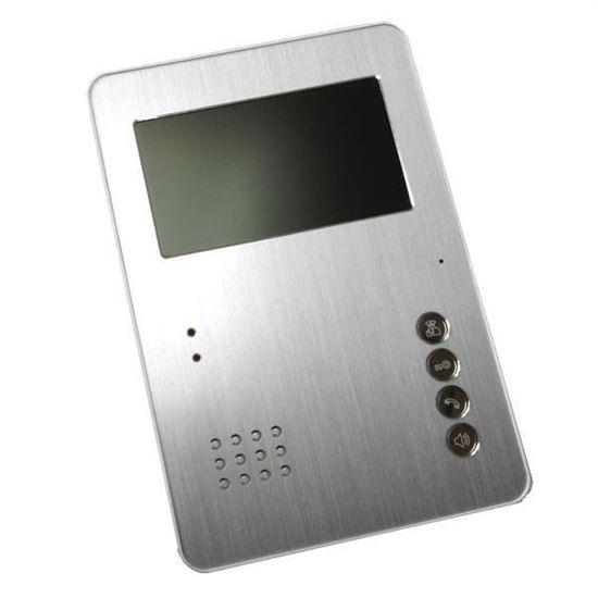 Монитор видеодомофона PVD-407C silver