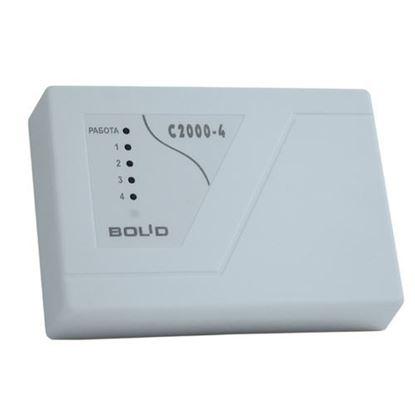 Прибор приемно-контрольный охранно-пожарный С-2000-4