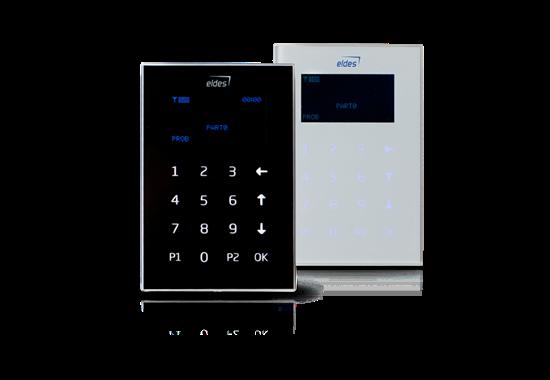 EKB2 сенсорная LCD клавиатура для ESIM264-364 (белая)