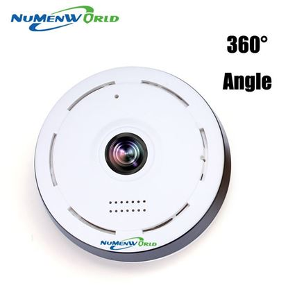 Беспроводная WI-FI IP видеокамера NuMenWorld Q360-W
